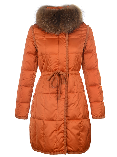 Moncler Down Coat Women Winter Coat Ora Fur Collar