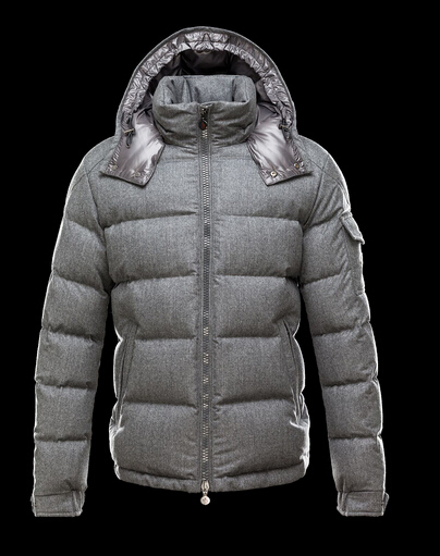 Moncler Jackets Montgenevre Men Short Jacket Hooded Gray