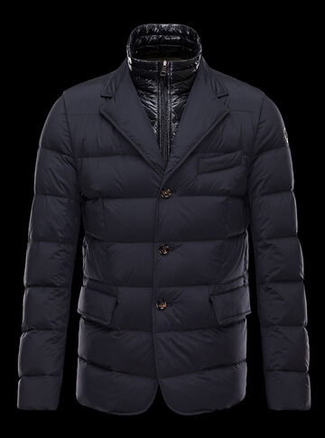 Moncler Down Jacket ROUILLAC Men's Winter Jacket Col Blue