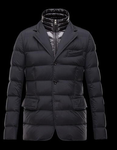 Moncler ROUILLAC Winter Jacket Men's Col Black