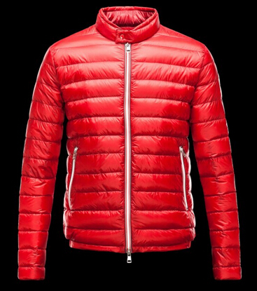 Moncler Men's Down Jacket Red Down Jacket