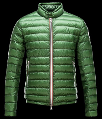 Moncler Men's Down Jacket Green Parka Down Jacket