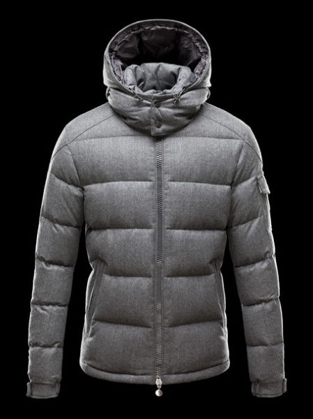 Moncler Men's Down Jacket Montgenevre Gray