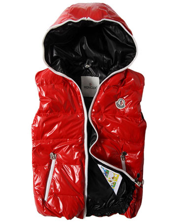 Moncler Men's Down Jacket Red