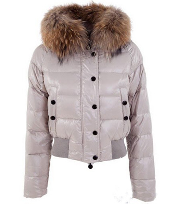 Moncler Women's Down Jacket Gray