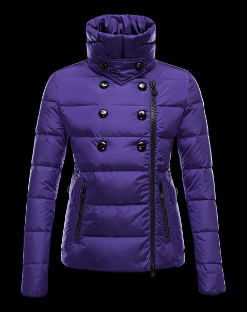 Moncler Women's Down Jacket Blue Down Jackets