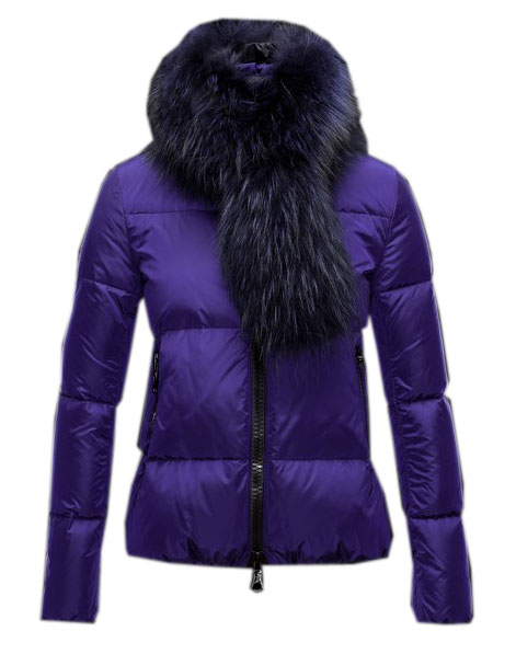 Moncler Women's Winter Jacket Women's Purple