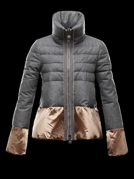 Women Moncler Down Jacket Miwako Anthracite