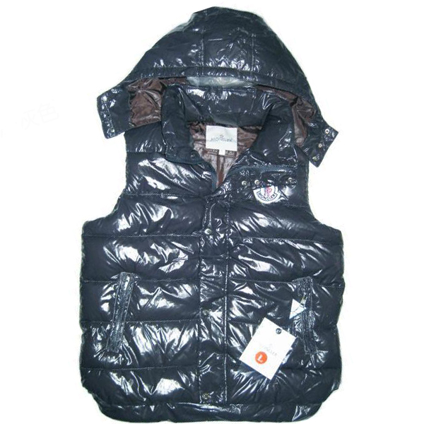 Moncler Vest Men's Blue Sleeveless Jacket