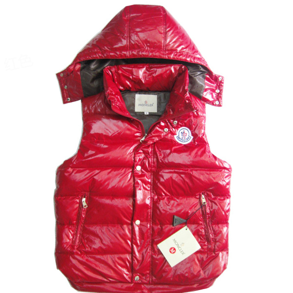 Moncler Men's Sleeveless Jacket Red