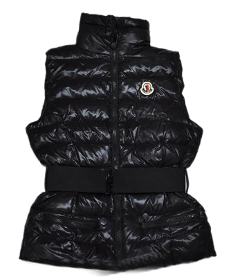 Moncler Women's Branson Sleeveless Vest Black