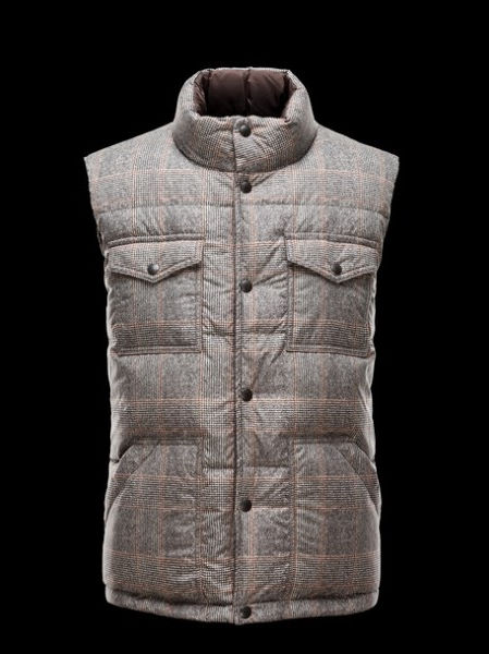 Moncler Men's Fleece Sleeveless Vest