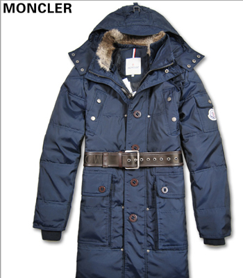 Men Moncler down coats down jackets blue