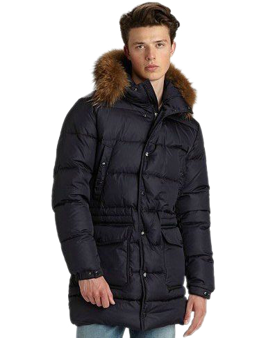 Moncler Men's Winter Coats Blue