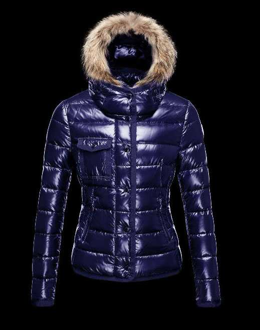 Hot Sell Moncler Armoise Down Jackets For Women Blue