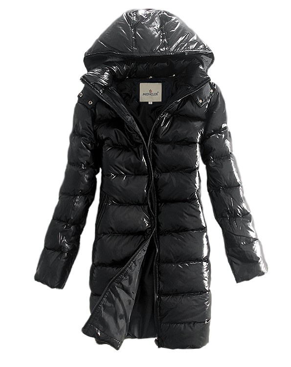 Coat Women Moncler down jacket long sleeve smooth fabric N