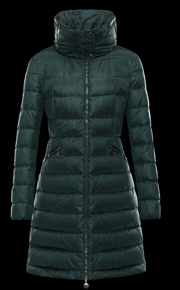 Moncler Women's Long Sleeve Hooded Down Coat