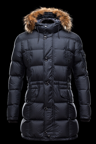 Coat Moncler Gabriel Men Down Jacket Long Fur Hood B
