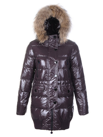 Coats Moncler Loire Doudounes Fur Women Hooded