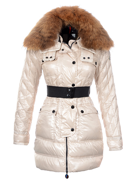 Coats Moncler Women's Down Jacket Parka Beige