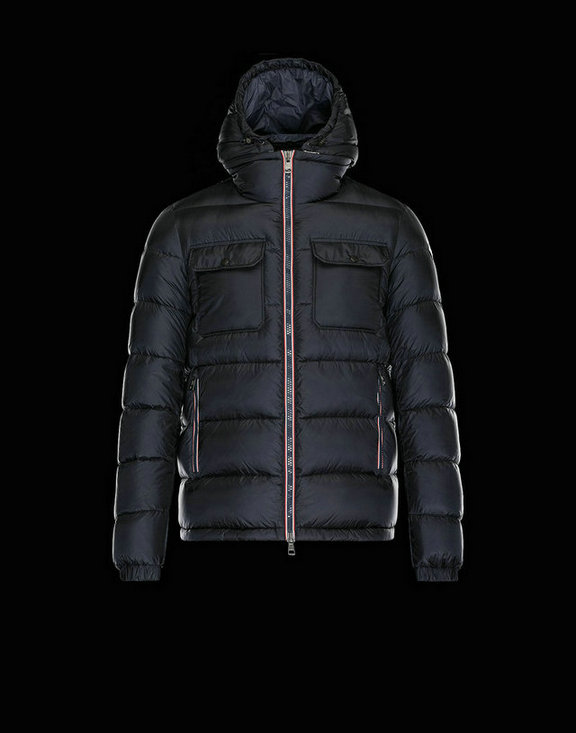 Men Moncler Down Jackets Demar Blue