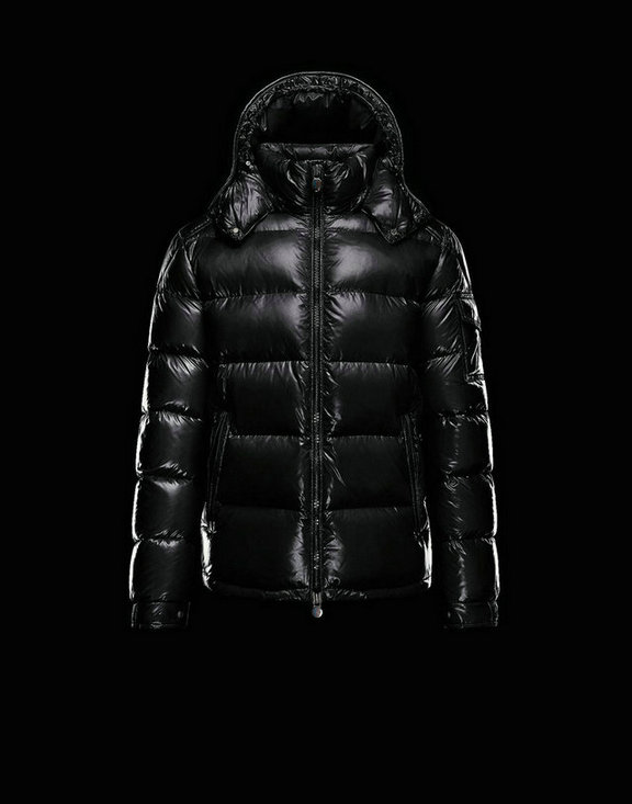 Men Moncler Down Jackets Maya Black