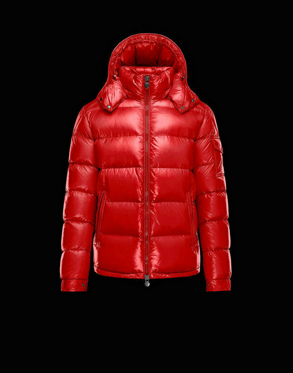 Men Moncler Down Jackets Maya Red