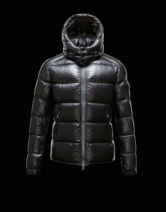 Men Moncler Down Jackets Zin Black