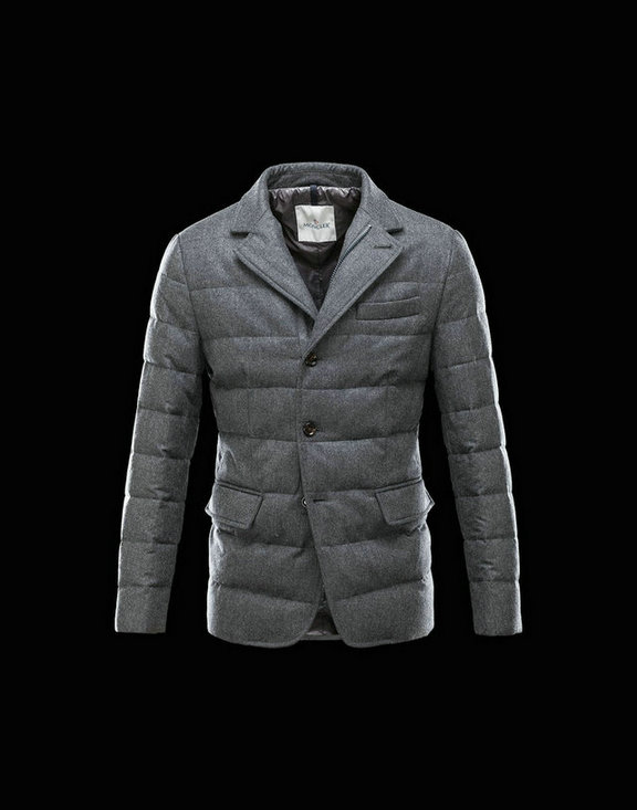 Men Moncler Jackets & Coats Rodin Steel Grey