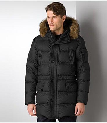 Moncler Affton Coat Men Black