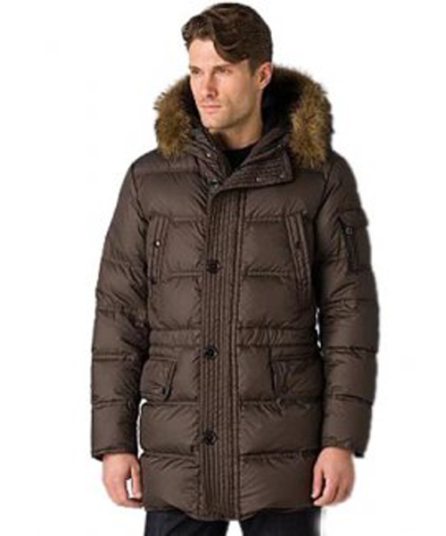 Moncler Affton Coat Men Down Coffee