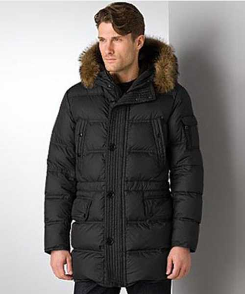 Moncler Affton Coat Mens Down Black