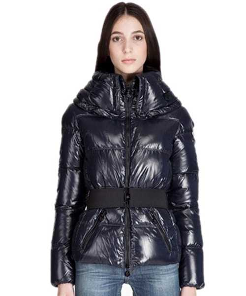 Moncler Aliso Designer Women Down Jackets With Belt Brown