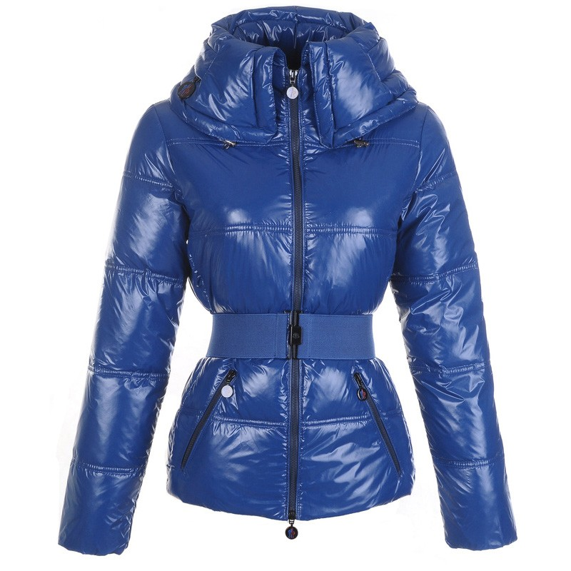 Moncler Aliso Down Blue Jacket Women