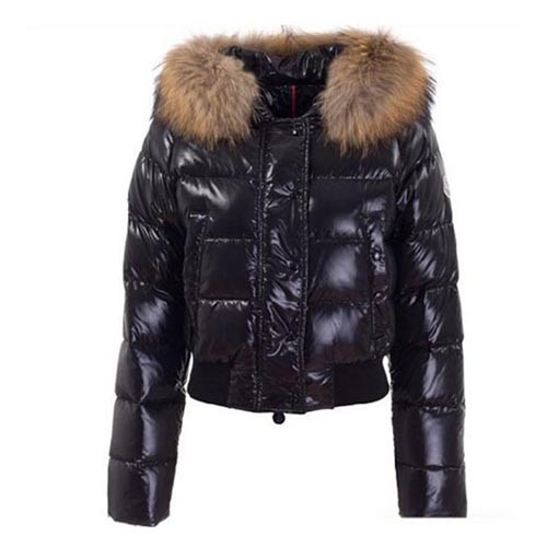 Moncler Alpes Black Jacket Women