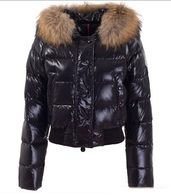 Moncler Alpin Women Down Jacket Black