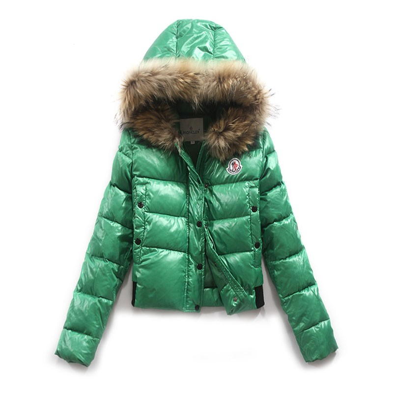 Moncler Alpine Green Jacket Women