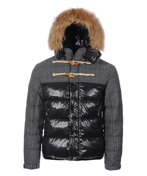 Moncler Anthime Jacket Men Single-Breasted Black