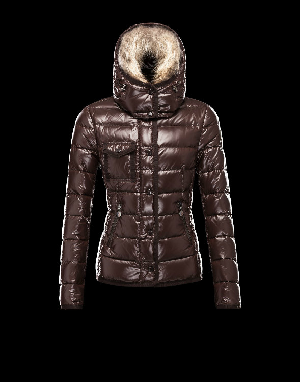 Moncler Armoise Down Jackets For Women Brown