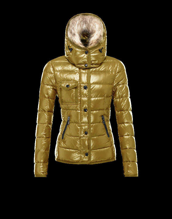 Moncler Armoise Down Jackets For Women Champagne