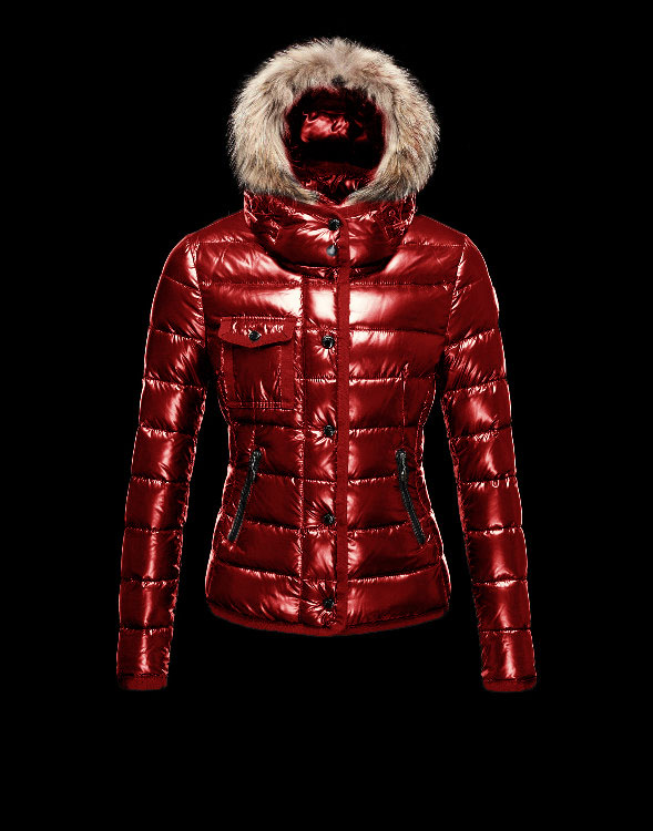 Moncler Armoise Down Jackets For Women Red