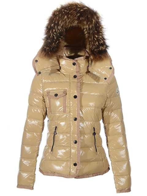 Moncler Armoise Hot Sell Down Jackets For Women Khaki