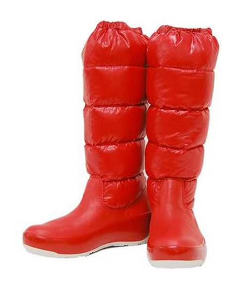 Moncler Boots Nible Red Stylish And Generous