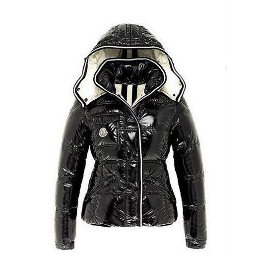 Moncler Branson Navy Black Jacket Women