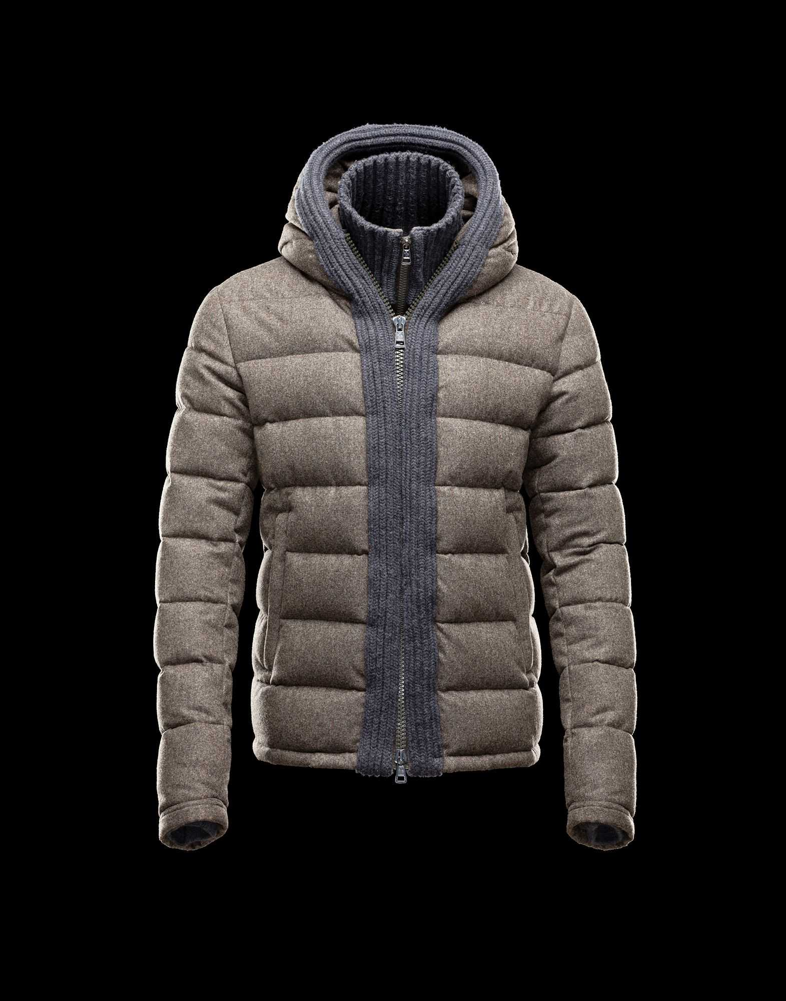 Moncler CANUT Design Mens Down Jackets Army Green