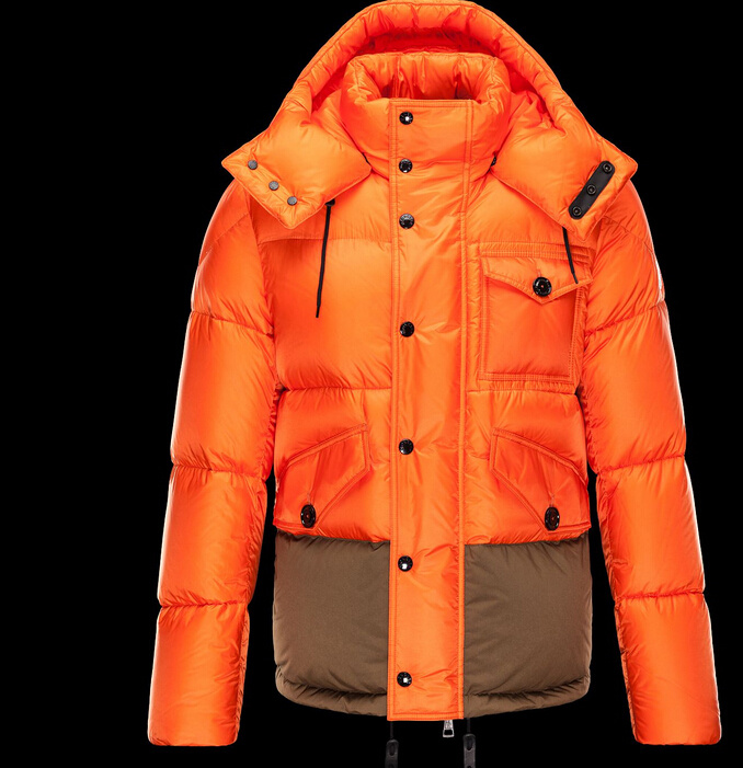Moncler Chamonix Jackets Orange