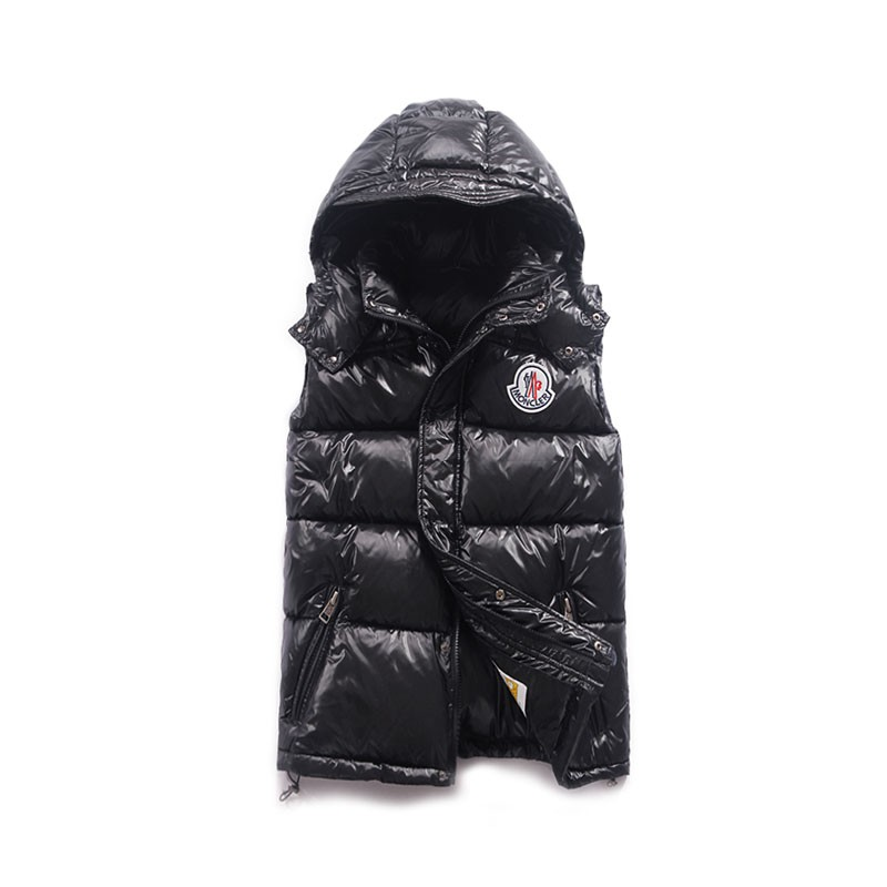 Moncler Cheval Black Vest Men