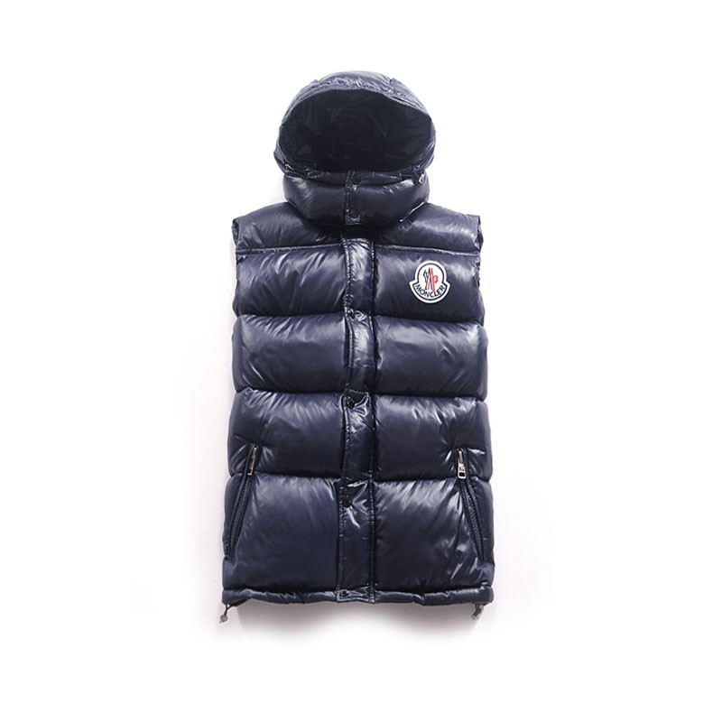 Moncler Cheval Dark Blue Vest Men