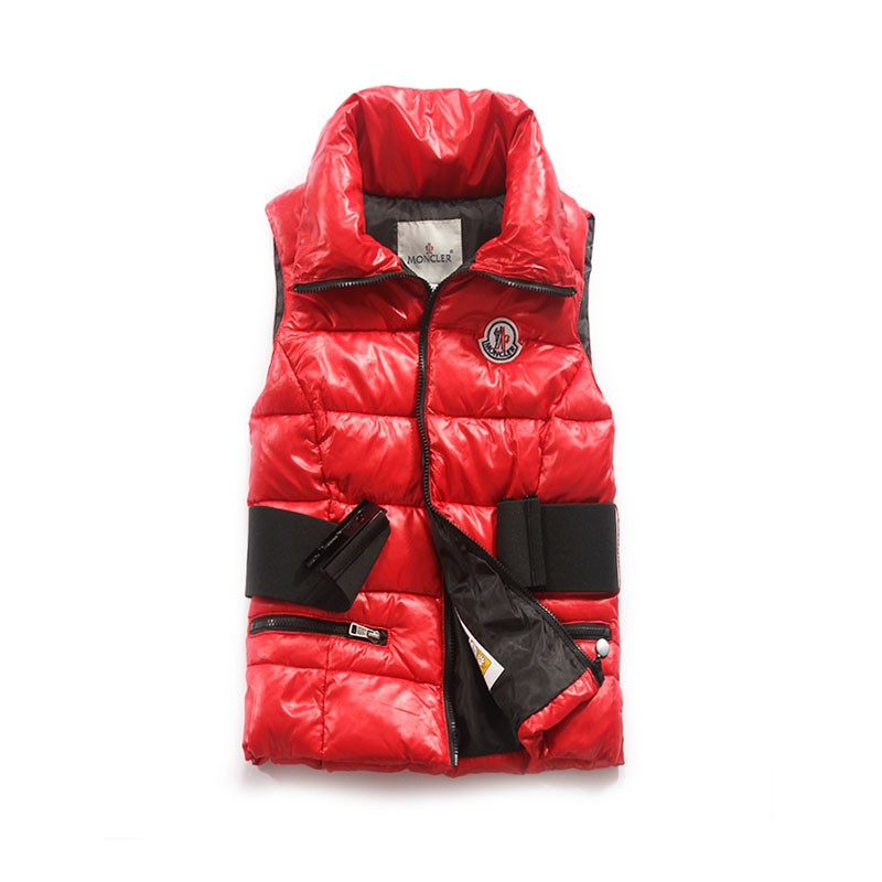 Moncler Cheval Red Vest Women