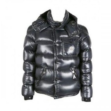 Moncler Christmas Edition Down Black Jacket Men